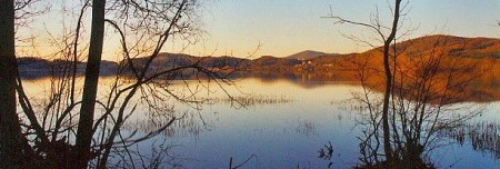 Laacher See morgens